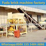 Qt4--Machine de fabrication de brique de verrouillage d'argile automatique de 10 Hydraform