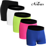 Las mujeres de Neleo compresión pantalón corto deportivo desgaste del yoga de ropa Nn0110