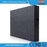 Alto schermo di visualizzazione freddo pieno esterno del LED di tasso Mbi5124 HD P6 P10 di Refersh