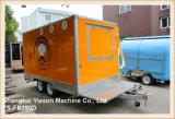 [يس-فب390د] برتقاليّ طعام شاحنة مقطورة يبيع طعام شاحنة [سودي] شبه جزيرة عربيّة