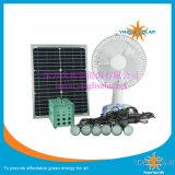 Sistema portatile a energia solare del ventilatore di DC12V del kit solare di energia solare