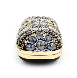 glittering Crystal Beaded Designer Handmade 핸드백 형식 호화스러운 숙녀 이브닝 백