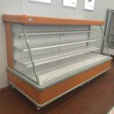 Refrigerador vegetal comercial usado do indicador da cortina de ar