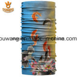Bandana трубчатое Headwear полиэфира печатание рыб оптового вспомогательного оборудования волос изготовленный на заказ