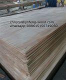 MDF padrão exportado do folheado da classe de 1220*2440mm cereja vermelha AAA