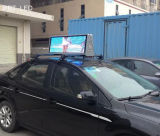 P5 extérieur imperméable à l'eau annonçant le panneau de signe de DEL pour le toit de taxi/dessus de véhicule