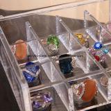Plateau acrylique de cadre d'organisateur d'étalage de boucle de bijou (HY-YXX115)