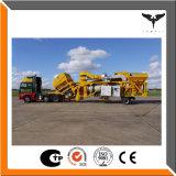 planta pequena do asfalto 10-80t/H, planta de mistura móvel do asfalto para o Sell