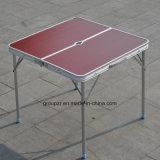 Table pliante portable Table de camping en aluminium