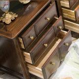 Gabinete de madeira contínuo da cubeta do estilo americano para a mobília As816 da sala de visitas