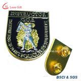 Commercio all'ingrosso su ordinazione del distintivo di Pin del risvolto del metallo 3D di marchio