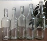 200ml / 250ml / 375ml botella de vidrio Flint Frasco