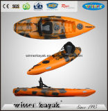 Entry Level Sit on Top Plastic Kayak avec Paddle