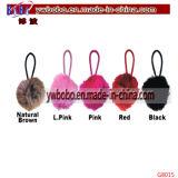 Llavero promocional llavero de piel Regalos de Navidad Keyholder (g8017)
