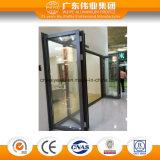 Puerta de plegamiento de aluminio de la capa del polvo