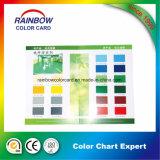 沈殿物の印刷のカラー・チャートの紙カードのボード