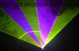 6W RGB 풀 컬러 애니메니션 레이저 광 단계 점화
