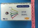 Выборы зуба зубоврачебной зубочистки качества еды с ручкой ABS