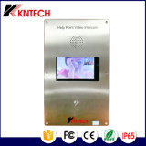 "7 de "" telefone video Knzd-60 da porta do IP do intercomunicador Digitas TFT-LCD SIP"