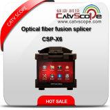 Splicer Csp-X6 сплавливания стекловолокна высокой эффективности