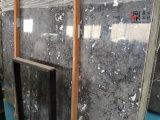 Мрамор закоптелого серого цвета высокого качества естественный каменный для украшения Countertop/здания