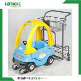 Торговый центр ягнится вагонетка с автомобилем игрушки детей