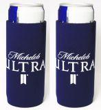 De promotie Houder van het Blik van de Drank van het Bier van het Neopreen van de Douane Koelere, Gedrongen
