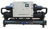 refrigerador de refrigeração água do parafuso 160tons com compressor de Hanbell