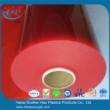 Van de Kwaliteit van het bereik de Super Duidelijke Oranje Flexibele Plastic VinylDeur van pvc- Bladen
