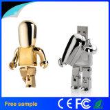 Bastone di memoria del USB del robot del metallo di alta qualità