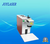 Máquina portable de la marca del laser de la fibra 10W
