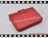 Fornecedor do suporte de cartão do crédito da carteira do couro genuíno de Guangzhou