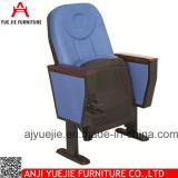 Silla y escritorios materiales Yj1006r del auditorio de la tela de la fabricación