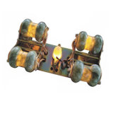 Vector usado de la base del masaje del jade del salón de belleza