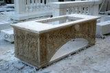 대리석 테이블 화강암 가정 채소밭 테이블