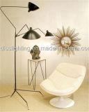 La luz del suelo del pato del hierro del trípode de la ramificación tres de Newst del diseño de Creat para la sala de estar adorna