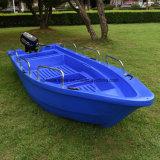 Embarcation plastique populaire de pêche maritime du bateau 430 de PE pour l'usage de 10 personnes
