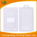 Cadre de empaquetage de logo d'espace libre de cadeau de papier fait sur commande de PVC avec le guichet