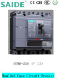 De lage Stroomonderbreker MCCB van het Geval van het Voltage Sdm6 Gevormde