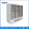 Ventilateur refroidissant le congélateur vertical des portes 1010L 4 en verre pour la mémoire
