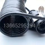 gewundener Draht der aufgerollten Kabel-5-Core für Schlussteil oder LKW mit Steckern