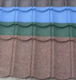 Azulejo de azotea revestido de la placa de material para techos del metal del color/del metal de la piedra