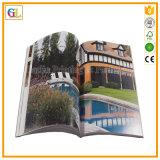 Изготовленный на заказ Softcover книжное производство полного цвета с A4/A5