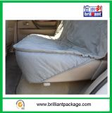 Couverture piquée grise lavable de banc de place arrière de véhicule d'animal familier