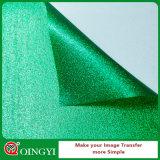 Qualité de Qingyi et prix usine grands de film populaire de transfert de scintillement pour le tissu