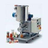 Máquina de etiquetas seca da máquina de enchimento do pó do eixo helicoidal semiautomático do café
