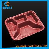 Rectángulo del alimento del empaquetado plástico de la impresión del soporte