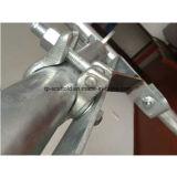 La gota forjó el medio acoplador del eslabón giratorio de la abrazadera durable del andamio