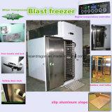 Congelador da explosão para a congelação de choque