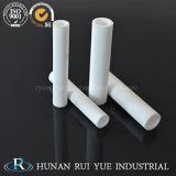 Tubo di ceramica del riscaldamento dell'allumina di 95% con il certificato di iso usato per il fucile ad aria compressa caldo